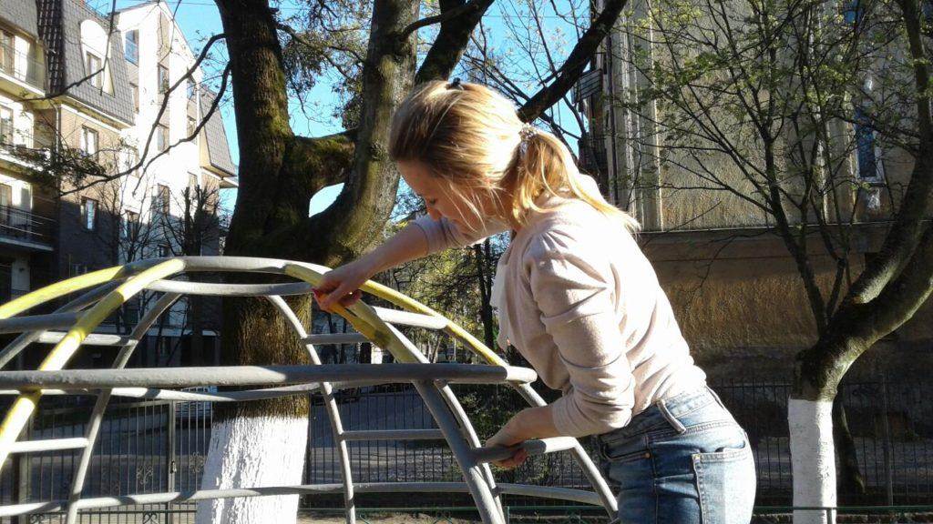 Городской субботник в детском саду