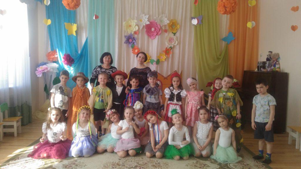 Театральная неделя в детском саду